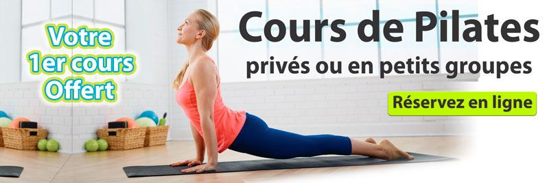 Cours de Pilates offert